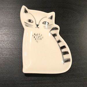 💸$10 add on — Kitty Ceramic Trinket Tray